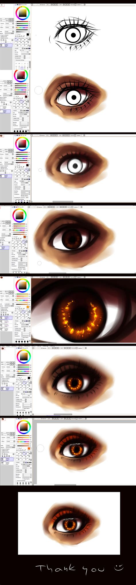 paint tool sai tutorial paint tool sai eye tutorial by ryky on deviantart