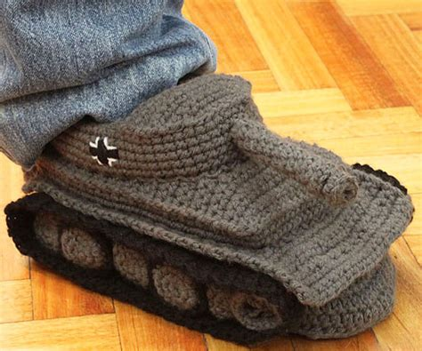 knitted tank slippers the pic thread iii rofl page 597