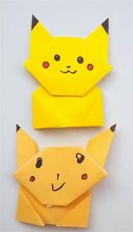 how to make pikachu origami easy origami pikachu tutorial pink stripey socks