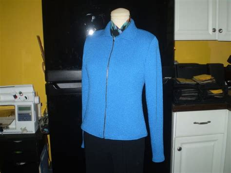 cut and sew knitting st zip up knit cut and sew cardigan made of a