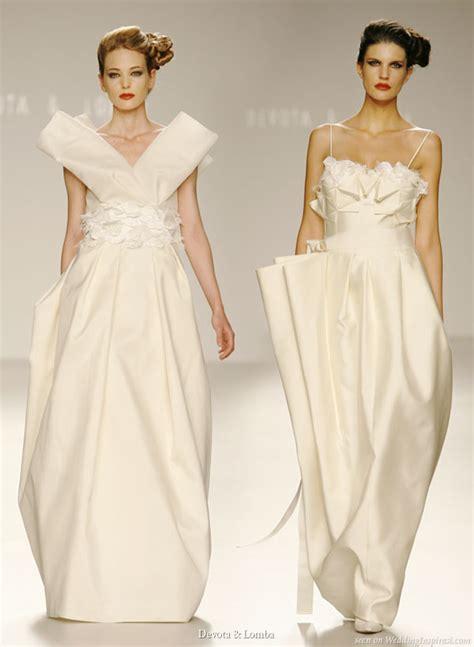 origami wedding dress devota lomba wedding dresses wedding inspirasi