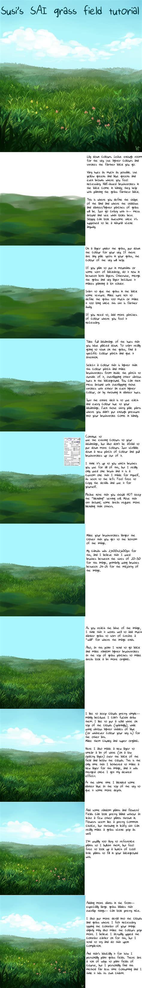 paint tool sai grass pe background tutorials by rydi1689 on deviantart