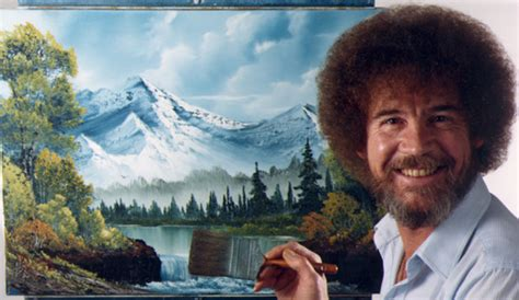 bob ross painting happy trees uncultured viewers the out of bob ross twitch