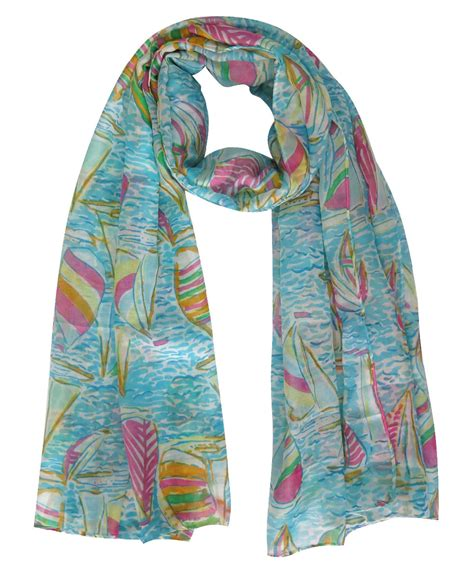 large for scarves sailboat on sea print s large scarf wrap