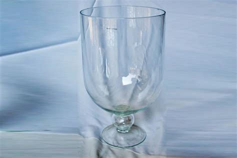 large glass large glass hurricane vase 48 x 30 cm gv083 funxion
