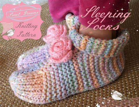 knitted bed socks free patterns sleep socks knitting pattern