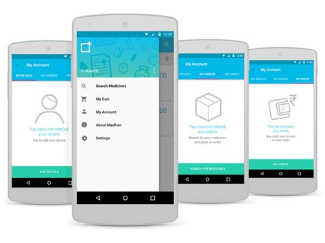 android app design uplabs