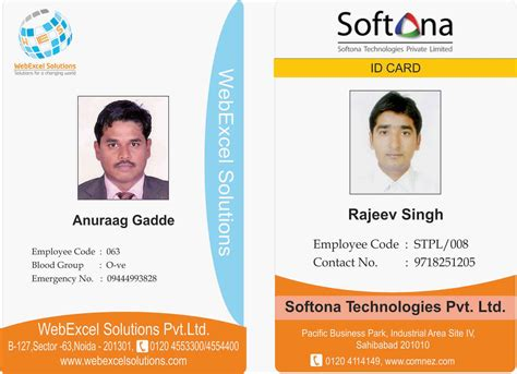 how to make company id cards creation graphics