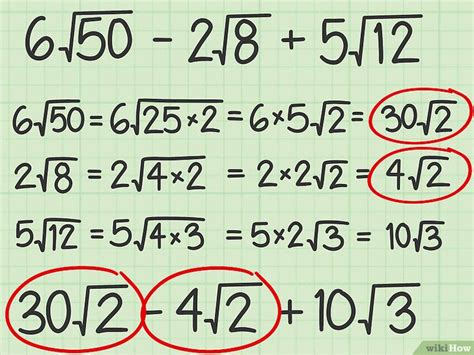 resta de raices cuadradas c 243 mo sumar y restar ra 237 ces cuadradas 9 pasos