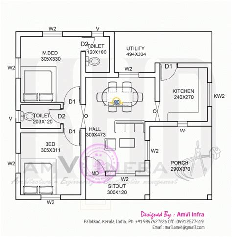 three bedroom house plans kerala style 1000 sq ft house plans 3 bedroom kerala style house plan
