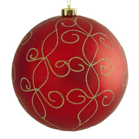 shatterproof ornament jumbo swirl shatterproof ornament tree