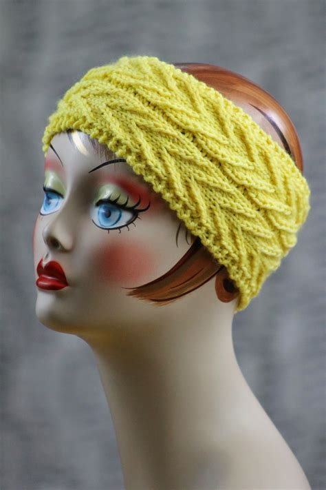 how to knit a simple headband around we go headband allfreeknitting