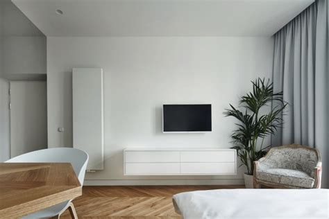 minimalist studio apartment a minimalist studio apartment in krakow design milk