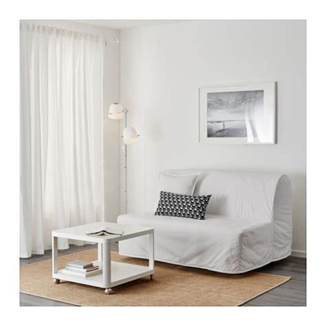 ikea lovas sofa bed lycksele l 214 v 197 s two seat sofa bed ransta white ikea