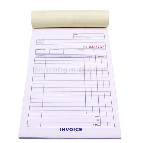 picture book printing bill book printing design invoice book vista print invoice