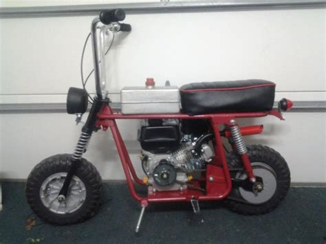 Modified Mini Bikes by 1969 Broncco Mini Bike Modified