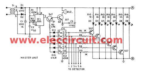 Room Layout Generator fire alarm circuit using infrared eleccircuit com