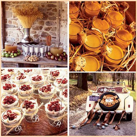 ideas for fall lq designs fall wedding ideas