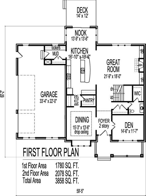 2 story open floor plans two story home floor plans find house plans