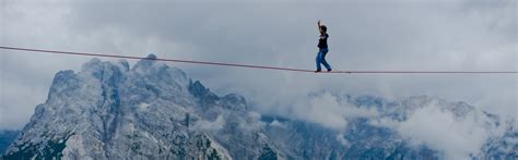tight rope how to walk the content marketing tightrope smlondon