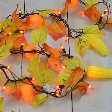 autumn string lights autumn garland with lights 28 images fall thanksgiving