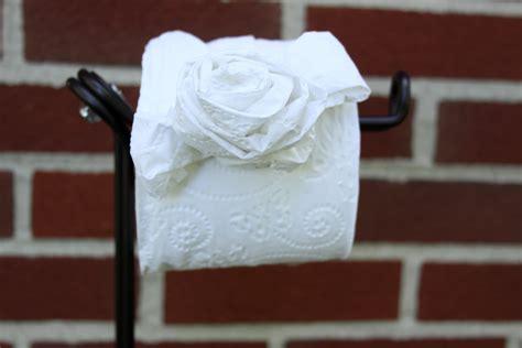 toilet paper origami flower diy toilet tissue origami crafts