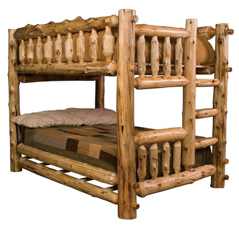 bunk beds furniture wooden bunk beds what to choose log bunk bed adds the