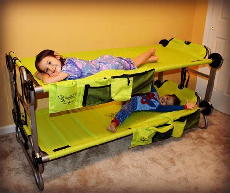 travel bunk beds kid o bunk childrens travel bunk beds