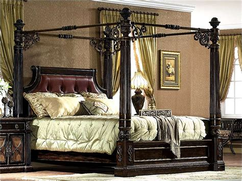 4 post canopy bed four poster canopy bed king viendoraglass