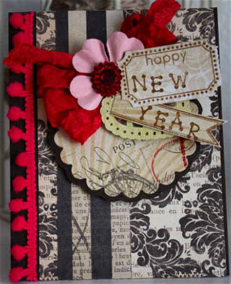 how to make a new year card handmade things pixie dust paperie december kit