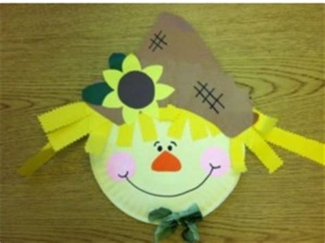 paper plate scarecrow craft scarecrow craft idea for crafts and worksheets for