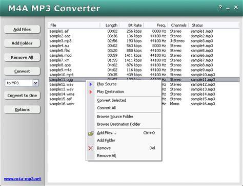 mp3 converter screen m4a mp3 converter