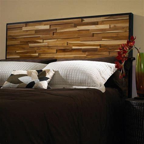 diy modern headboard reclaimed wood panel headboard modern headboards by