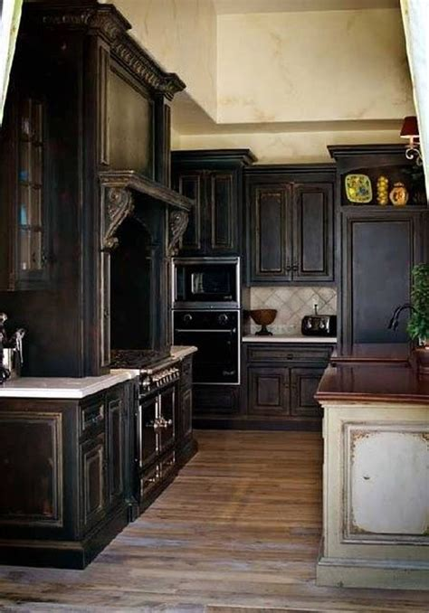 rustic black kitchen cabinets 17 best ideas about black kitchen cabinets on