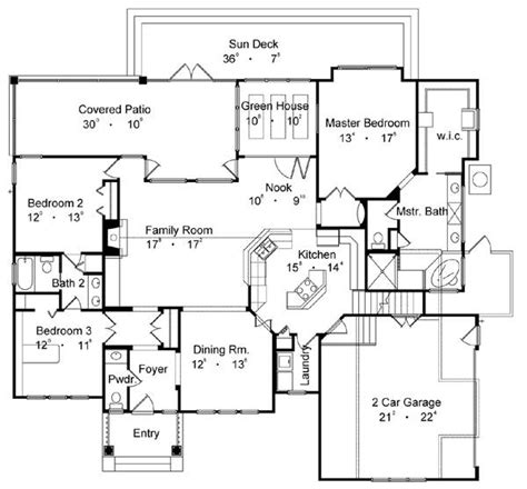 best home floor plans quot the best house quot 4176 3 bedrooms and 2 baths