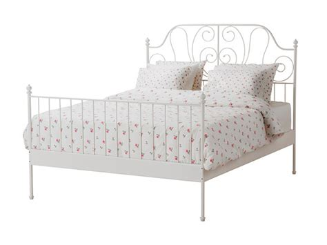 iron bed frames ikea ikea white metal bed frame