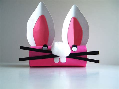 toilet paper craft preschool crafts for easter bunny toilet paper