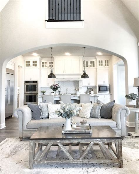 kitchen table in living room best 25 living room inspiration ideas on gray