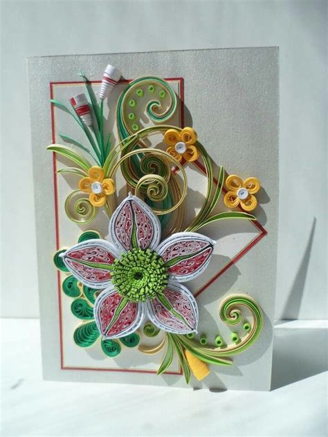 card with quilling 122 best images about quilling birthday cards all ages