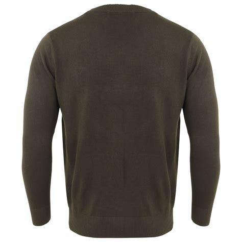 mens knit pullover mens plain colour thin knit casual crew neck jumper