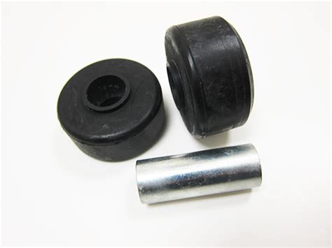 rubber st mount top mount hardened rubber bushings w sleeve replacement