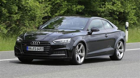Audi Turbo by Audi Rs5 Test Mule Hides Turbo