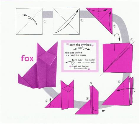 how to make a fox origami origami fox 001 ian neale viralnetworks