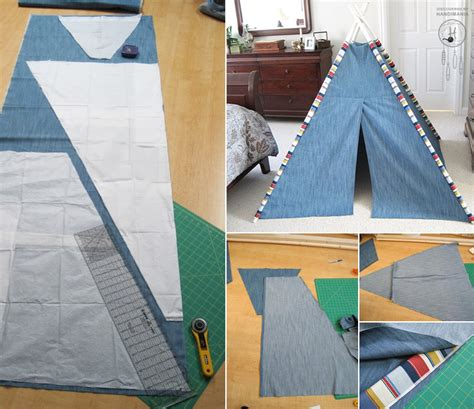 tent craft for how to make teepee tent for diy crafts