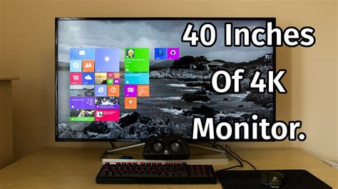 40 inch computer desk philips 40 inch 4k monitor review bdm4065uc