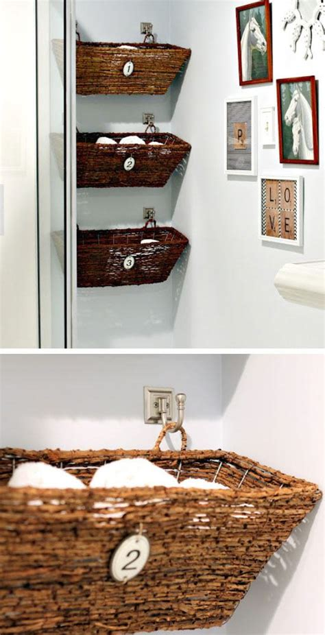 bathroom ideas for small spaces on a budget 20 diy bathroom storage ideas for small spaces