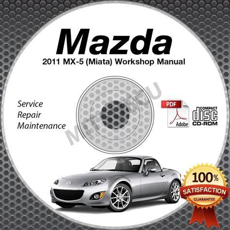 2011 mazda miata mx 5 service manual cd workshop repair 2 0l nc new high def