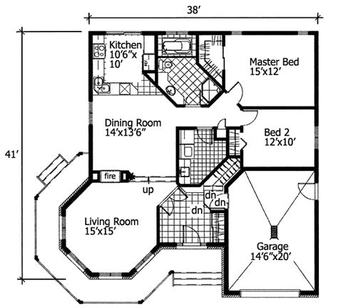 one story house blueprints simple one floor house plans architectural designs