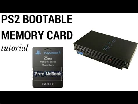 how to make a memory card create playstation 2 bootable memory card