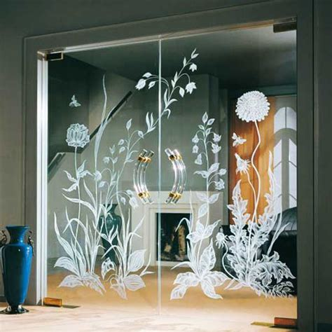 glass design ideas fantastic solid glass doors and room dividers inviting